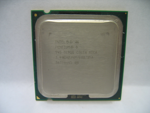 Intel Pentium D 945 SL9QQ 3.4 GHz / 4M / 800 Processor