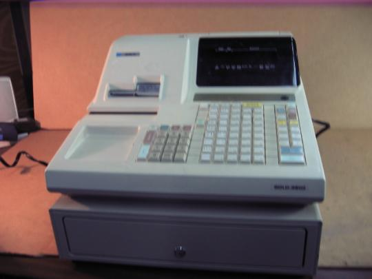JCM Gold G-3800 Cash Register Machine