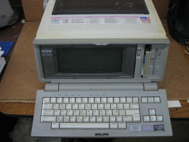 Brother WP-2200 Word Processor