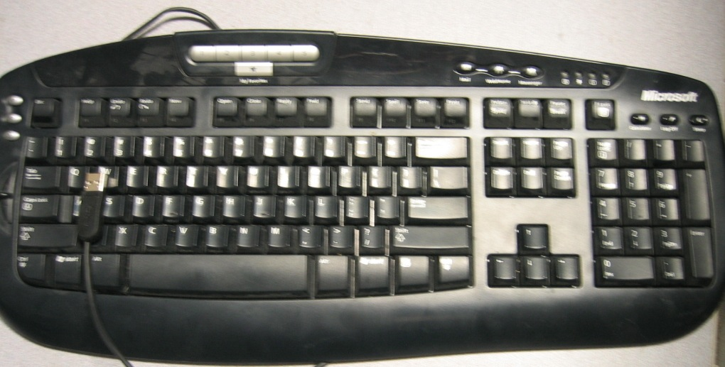Microsoft Digital Media Keyboard Model 1031 USB