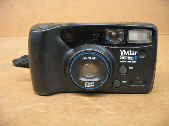 Vivitar Series 1 46OPZ Data Back 38-70 AF 35mm Camera