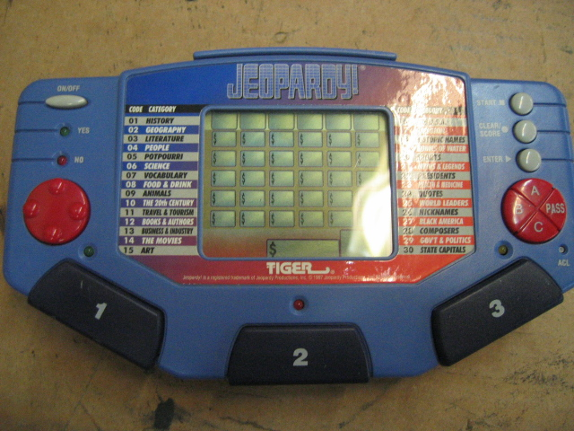 Tiger Electronics Jeopardy! Handheld Game