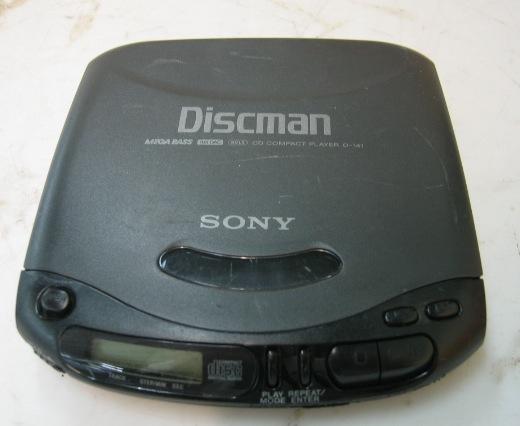 Sony Discman D-141 CD Drive