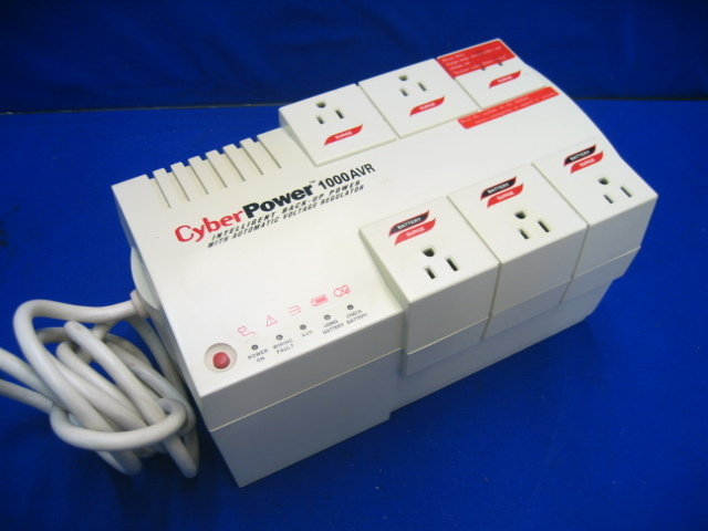 CyberPower CPS1000AVR UPS Battery Backup System 12A