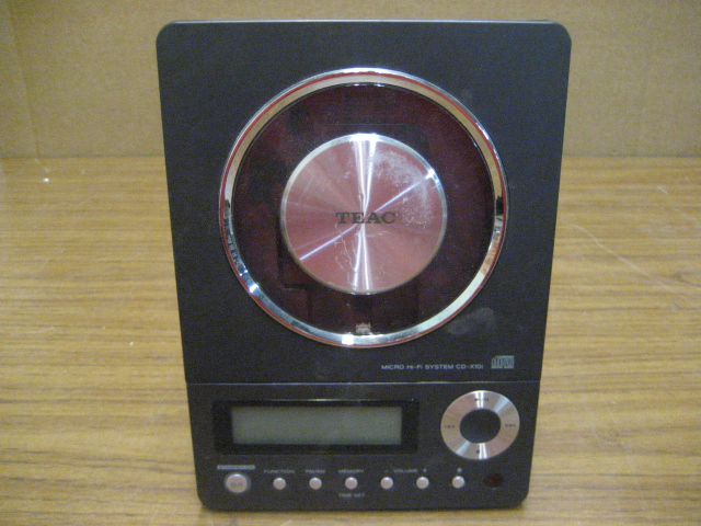 Teac Micro Hi-Fi System CD-X10i CD Player