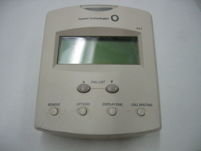 Lucent Technologies Model 425 Caller Id System