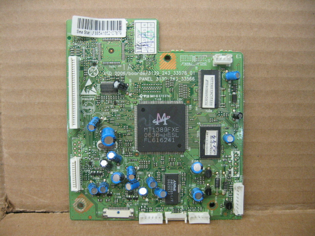 DVD Player Board 3139-243-33576 w/ MediaTek MT1389FXE
