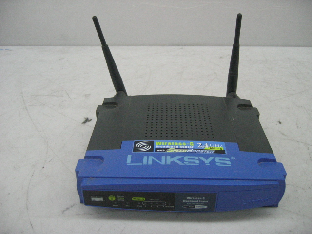 Linksys WRT54GS v.6 Wireless-G Broadband Router