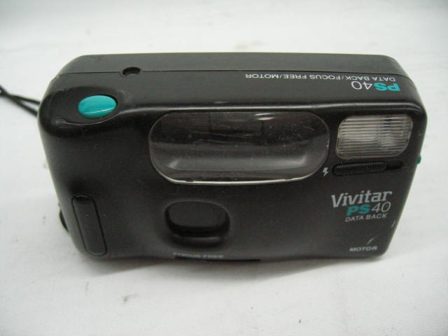 Vivitar PS40 Film Camera 35 mm Point-n-Shoot