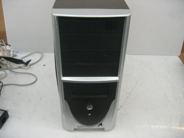 Generic ATX Computer Case With Power Supply Installed