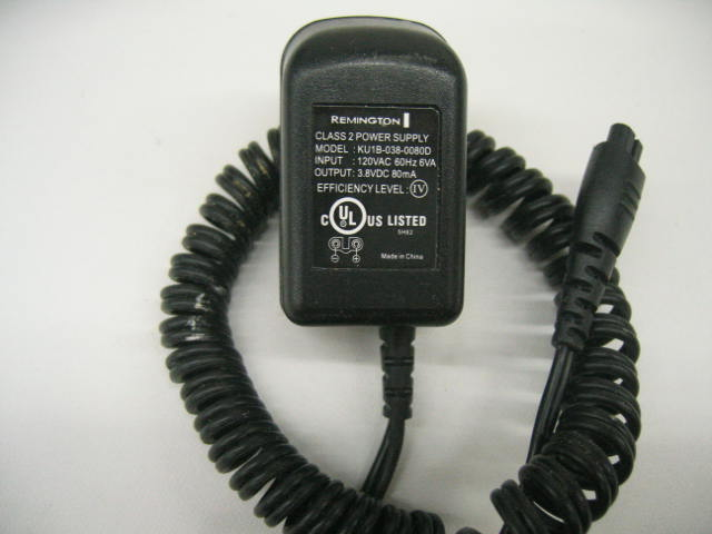 Remington KU1B-038-0080D 3.8VDC 80mA AC Adapter