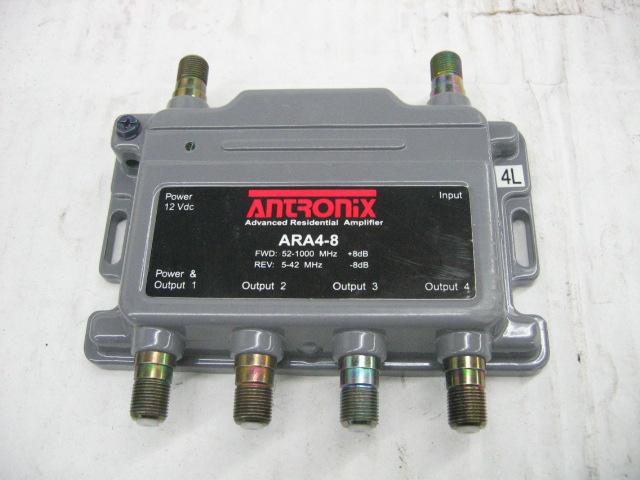 Cable Tv Signal Splitters : Antronix ara cable tv signal amplifier splitter ebay