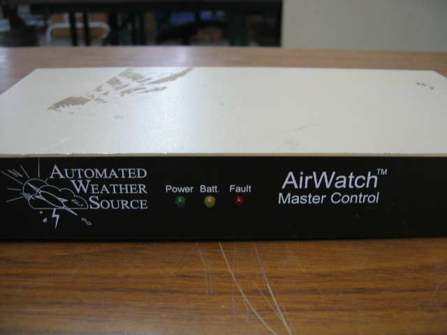 Automated Weather Source AirWatch Master Control