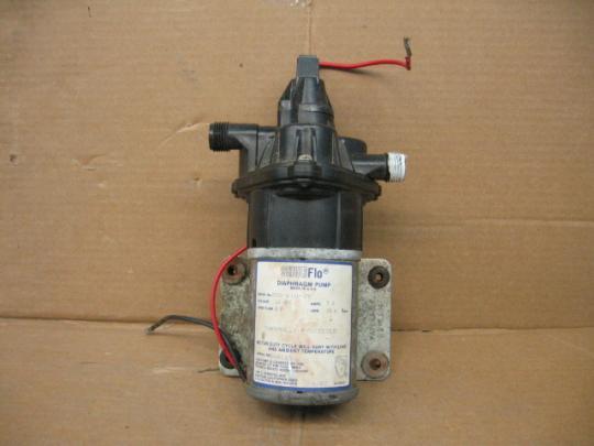 SHURFlo 200-210-39 Diaphragm Pump 12VDC/7A 10.6 GPM