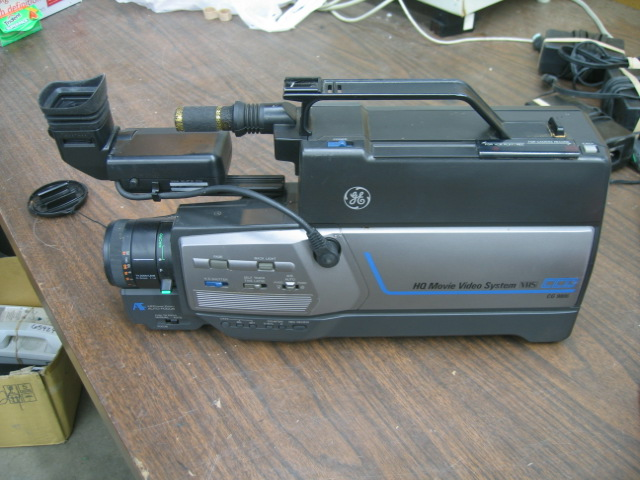 GE CG-9805 9806 HQ Home Video System VHS Camcorder
