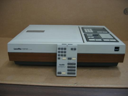 Pioneer VP-1000 Laser Disc Player + Remote Control