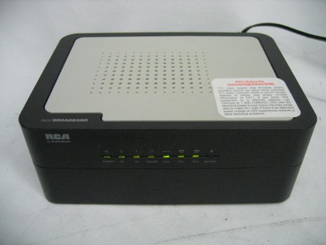 broadband rca broadband modem Comcast DCM425 RCA DCM425 Modem Support