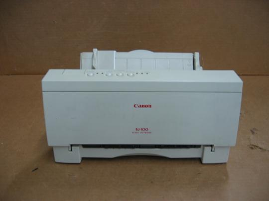 Canon K10110A BJ-100 Bubble Jet Printer