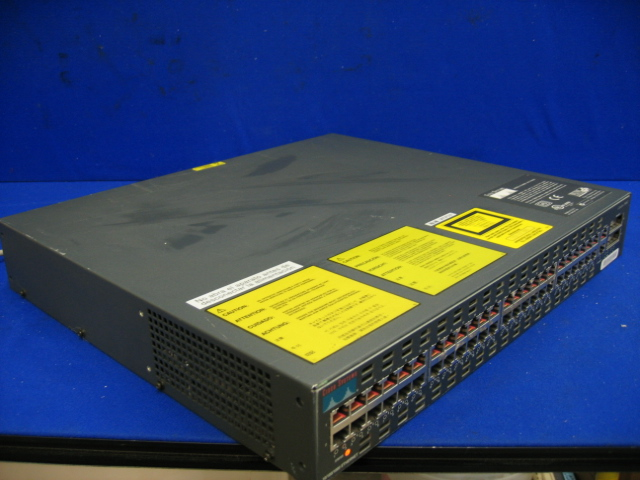 Cisco Catalyst WS-C2948G 10/100/1000 48-Port Gigabit Ethernet Switch