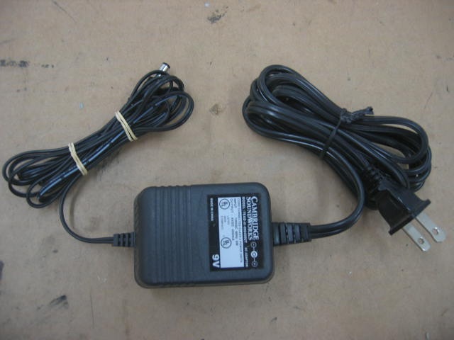Cambridge Soundworks TEAD-41-090400UT AC Power Adapter 9V 400mA