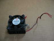 AAVID 1450222 12VDC 0.11A Brushless Fan + Heatsink