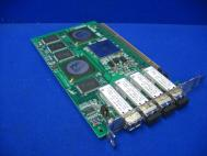 Qlogic QLA2344 2Gb Fibre PCI-X HBA Quad 4 Port Card FC2610405