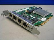 HP 4K0945 468001-001 Quad Port Gigabit NIC Adapter Card/Board