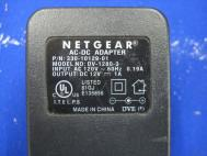 Netgear Power Supply AC-DC Adapter 12V 1A DV-1280-3