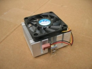 Foxconn Aluminum Heatsink w/ Clips Intel Socket 370