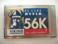 Viking 5RXUSA-25047-M5-E 56K PC Card Modem