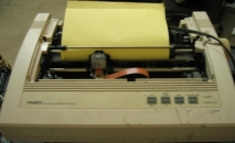Tandy Dot Matrix Printer DMP135  DMP 135