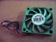 AMD 43141043 CPU Fan Brushless Green