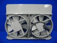 Apple Power Mac G5 Rear Case Exhaust Dual Fan Assembly