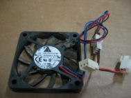 Delta Electronics EFB0612HA 12V .18A DC Brushless Fan