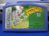 Leapfrog Leapster Cartridge Reading With Phonics Mole's Huge Nose 2004