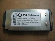 JDS Uniphase SOC-1250NS 52P6382 Short Wavelength GBIC