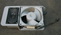 Apple Power Macintosh G5 Case Fan W/Speaker