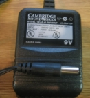 Cambridge Soundworks TEAD-41-090400UT 9V 400mA Adapter