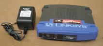 Linksys BEFSX41 EtherFast Cable/DSL Firewall Router with AC Adapter