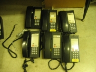 Lot of  6 Nortel Telecom Unity ll Phone HT4L 21AA