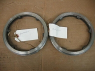 Pair of Seat Ring Carbon Steel Threaded 7