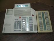 Nortel Meridian Phone w/22 Button Speed Dialer M2616 Beige