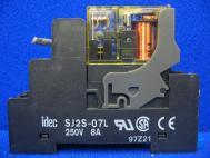 Idec Izumi RJ2S-C-A120 SJ2S-07L Relay Coil 250V 8A
