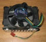 Intel Aluminum Heatsink w/ Intel A38001-002 CPU Fan