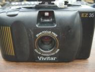 Vivitar EZ35 35mm Focus Free Camera With Auto 215 Flash