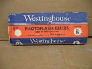 12 Pack Westinghouse Photoflash Bulbs No. 5 Class M