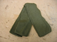 US Army Green Wool Scarf 8440-00-823-7520 Tubeular