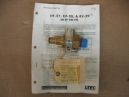 L-TEC RV-29 11P64 Relief Valve 25-75 PSI 3/4