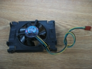 Intel A65061-003 12V .16A DC Brushless Fan