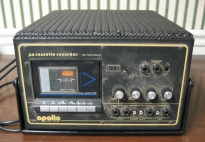 Apollo PA Cassette Recorder Model 2060-1